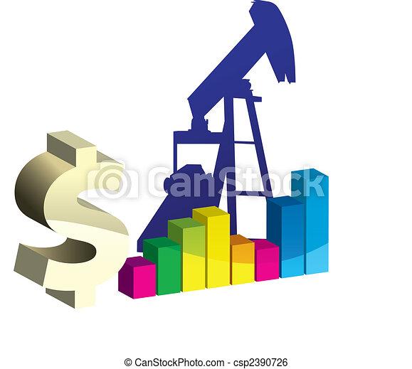 Oil Pump in Vector Art  - csp2390726