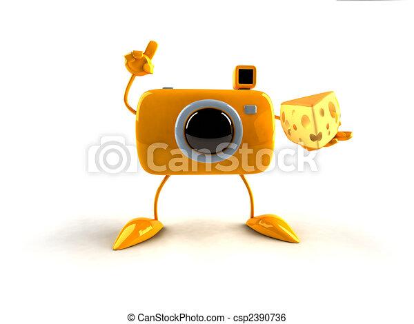 Say cheese - csp2390736