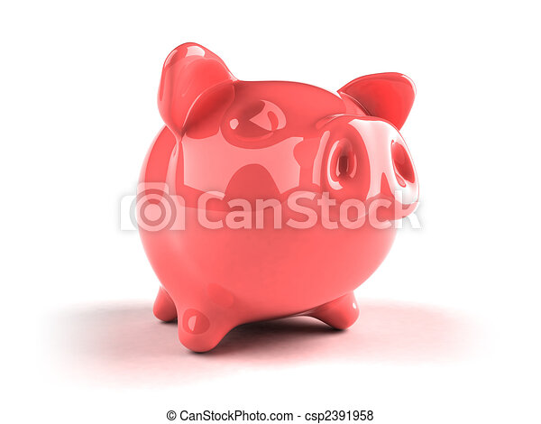 Piggy bank - csp2391958