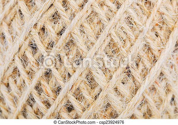 Stock de fotos c amo soga rollo gunny textura for Soga de canamo