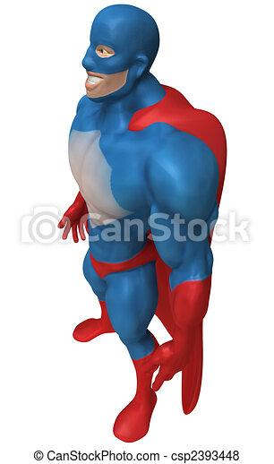 Superhero - csp2393448