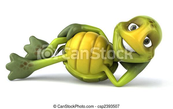 Fun turtle - csp2393507