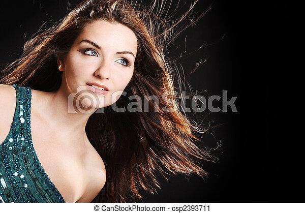 Glamorous woman - csp2393711