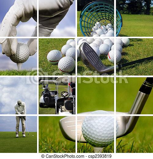 Golf concept - csp2393819