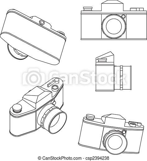 35mm slr - csp2394238