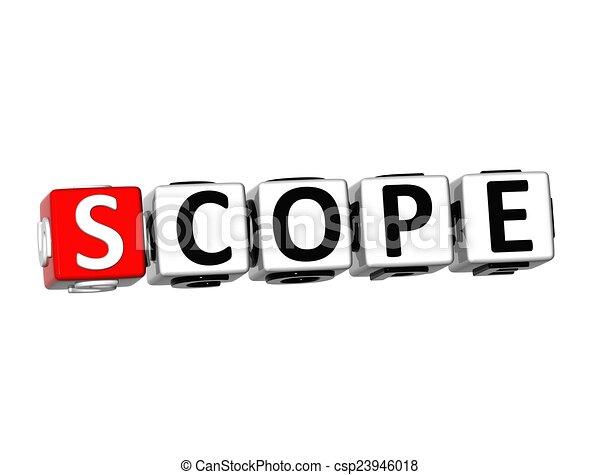 scope word