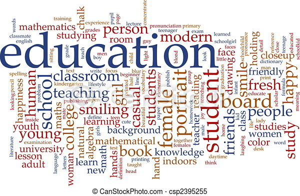 Education word cloud - csp2395255