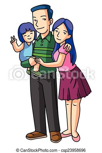 Happy Family - csp23958696