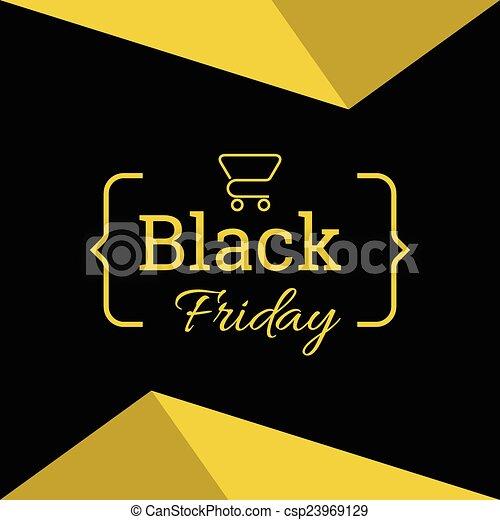 black Friday sale. - csp23969129
