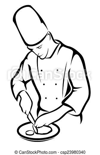 Cartoon Fundamentals How To Draw A Cartoon Body Vector 18651 likewise Royalty Free Stock Photos Table Setting Line Art Image24106328 furthermore Home And  mercial Kitchen Safety Tips together with Get Free High Quality Hd Wallpapers Coloring Pages Chef Hat also Search. on funny chef clip art