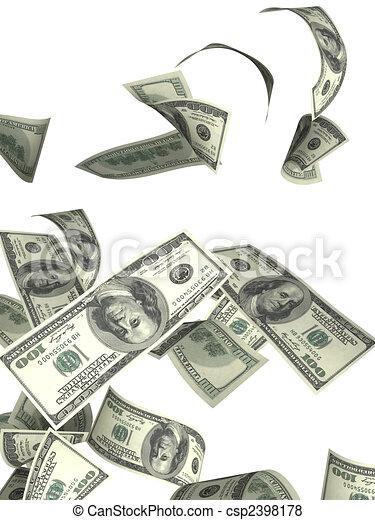 Dollars - csp2398178