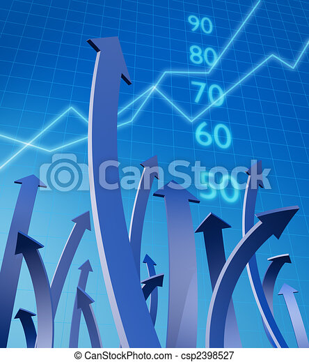 Business and financial growth concept - csp2398527