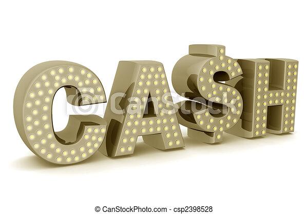 Cash icon - csp2398528