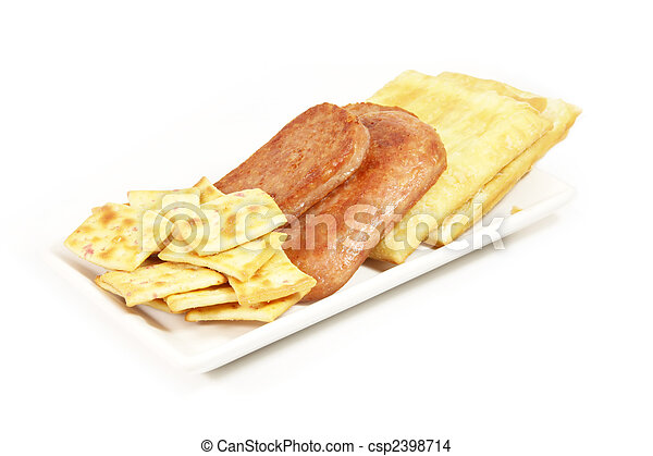 Luncheon Meat - csp2398714
