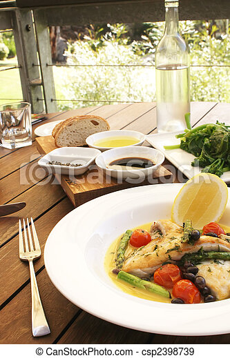 Gourmet Food - csp2398739