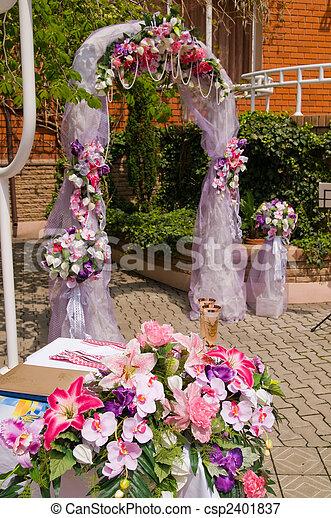 bröllop - csp2401837