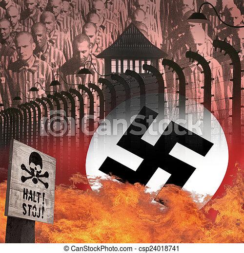 Holocaust - Auschwitz Nazi Concentration Camp - Poland