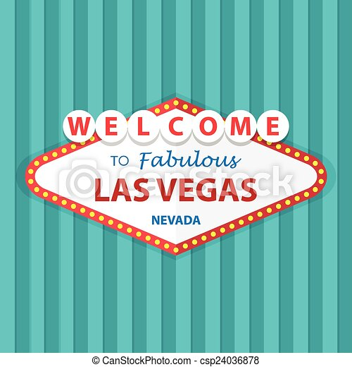 Welcome to Fabulous Las Vegas Nevad - csp24036878