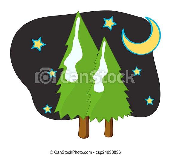 星, 月亮