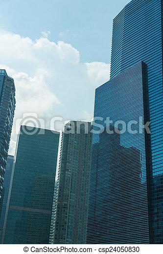 stock de fotos edificios contorno singapur