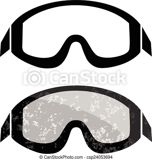 Ski Goggles Vector Snowboard Ski Goggles