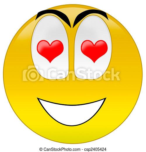 Dessin de smiley amour 3d rendre heureux smiley - Smiley a dessiner ...