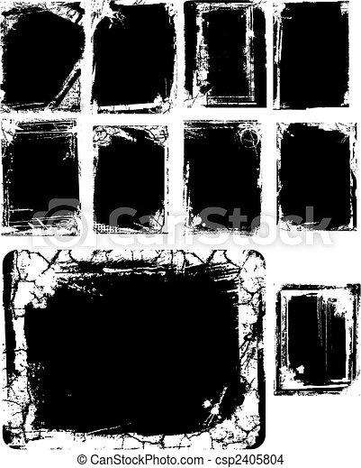 Artistic frame  - csp2405804
