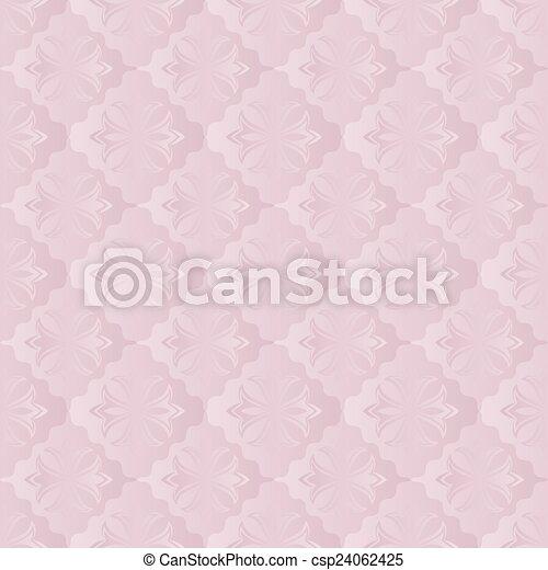illustration vecteur de papier peint rose fond ornement ou papier peint csp24062425. Black Bedroom Furniture Sets. Home Design Ideas