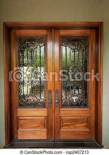 Stock Photos Of Elegantly Designed Front Doors An Image