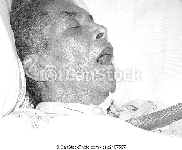 Heart attack victim. - csp2407537