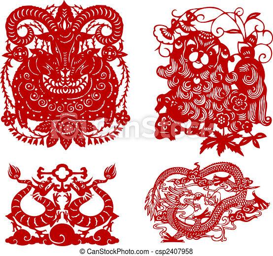 Oriental Element - csp2407958
