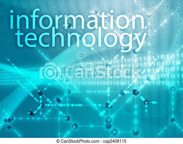 Information technology illustration - csp2408115