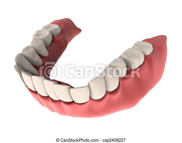 denture - csp2408227