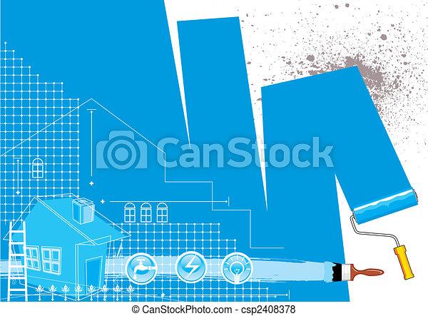 House Renovation - csp2408378