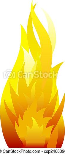 fire background - csp2408396