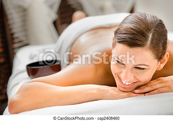 Woman in Spa - csp2408460