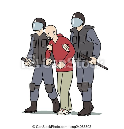 vector clipart of arrest this is the illustration of clipart police gratuit policy clip art free