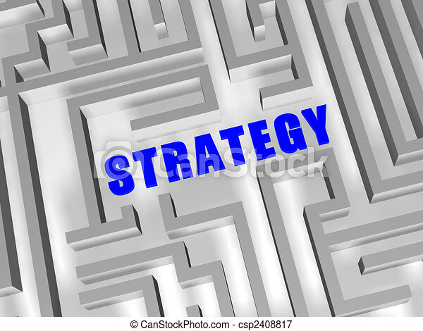 blue strategy in labyrinth - csp2408817