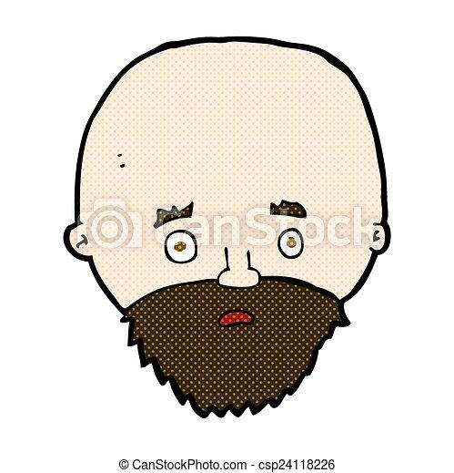beard - stock illustration, royalty free illustrations, stock clip art ...