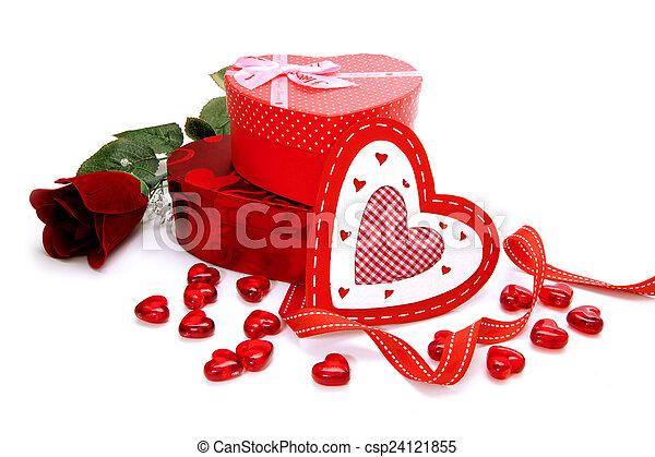Presentes,  valentines, Dia - csp24121855