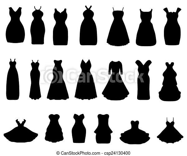 Fashion Drawing Little Dress
