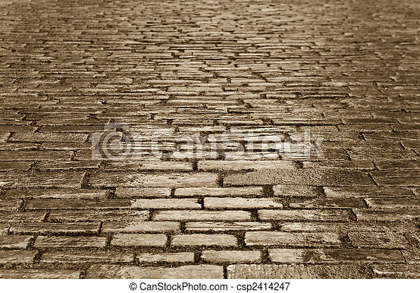 copper cobbles - csp2414247