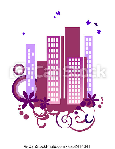 pink city - csp2414341