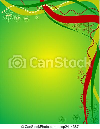 christmas time - csp2414387