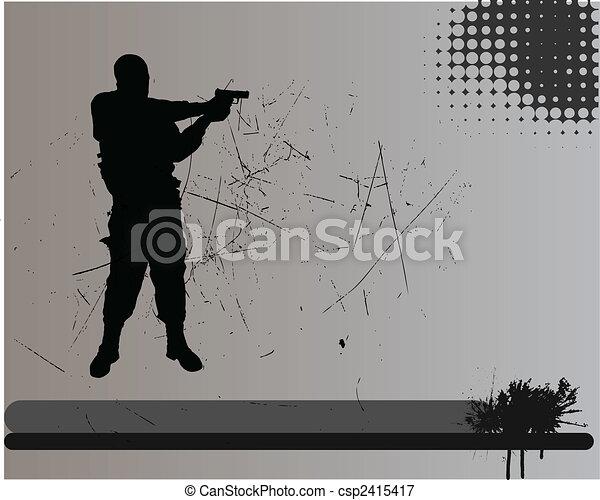 soldier - csp2415417
