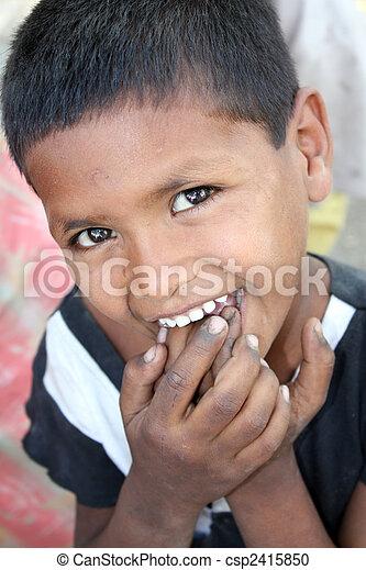 Shy Poor Kid - csp2415850