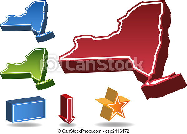 New York State Vector