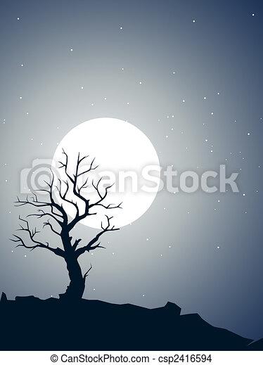 Dead tree - csp2416594