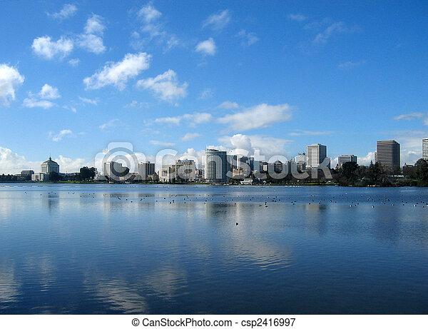 Oakland cityscape - csp2416997