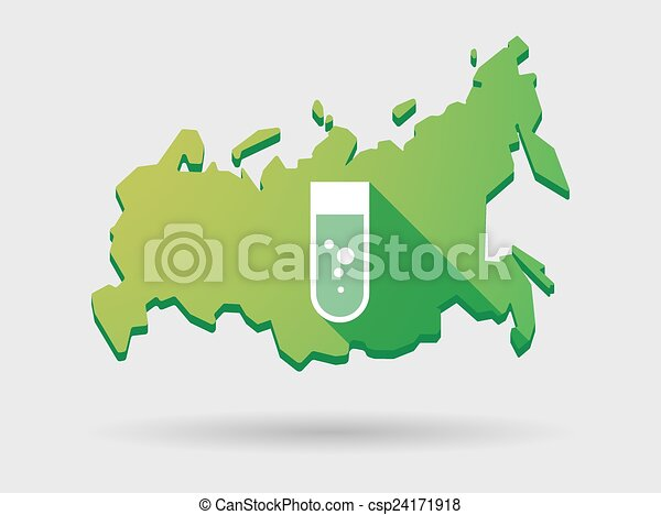 Russia Map Test Russia Map Icon With a